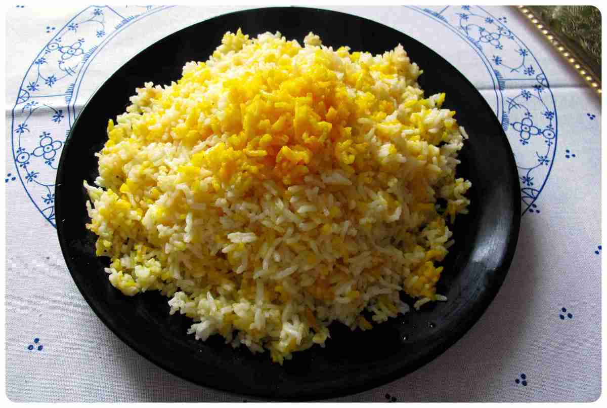 Reis kochen - iranische Art