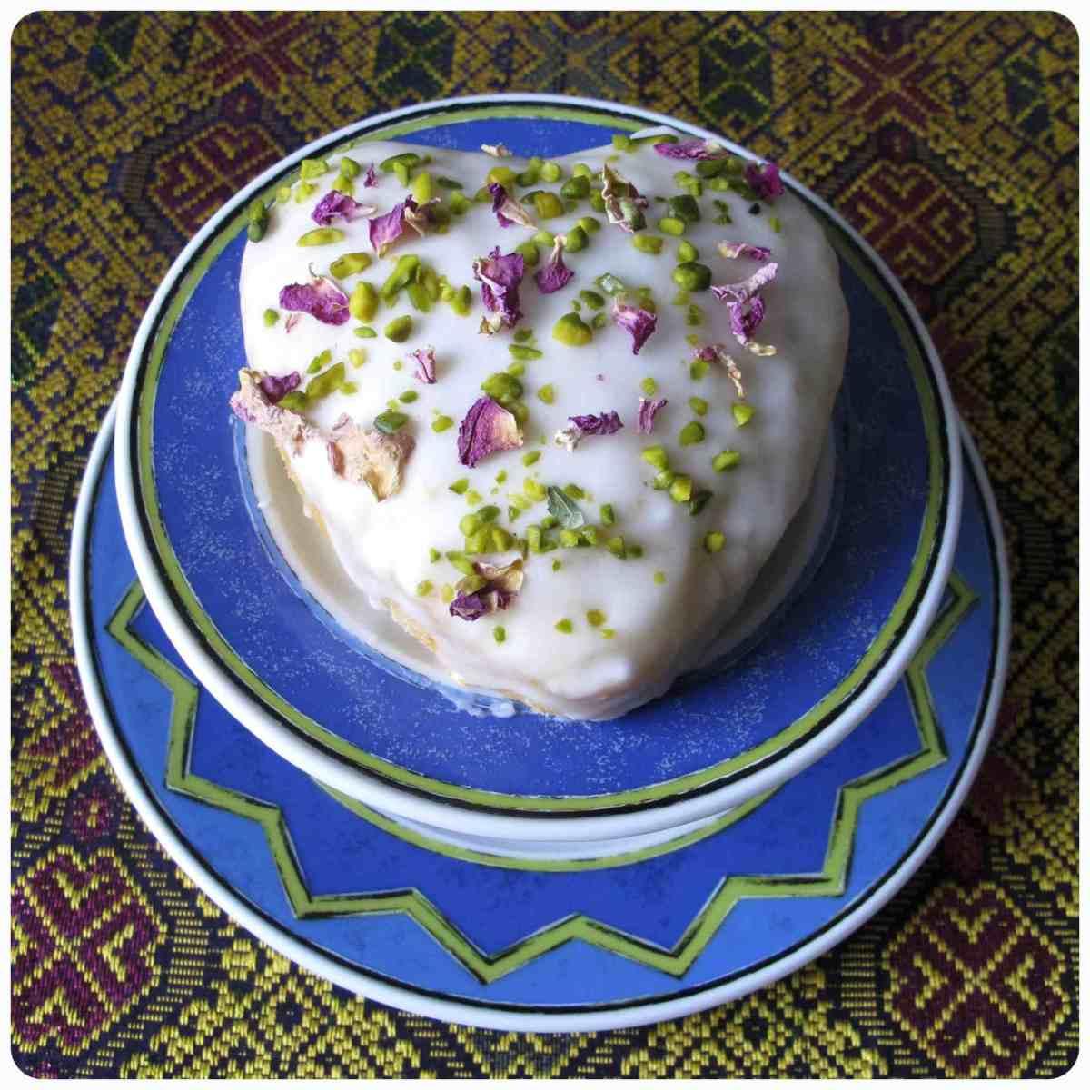 Persischer Liebeskuchen nach einem Rezept von Yasmin Khan