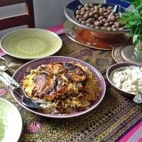 Lubia Polo (لوبیا پلو ) - Reis mit grünen Bohnen